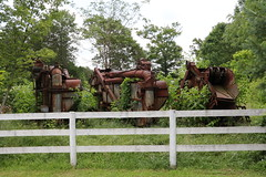 Rusted Farm Machines, Midland, VA