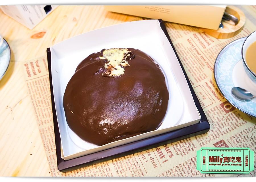 樂樂甜點超濃生巧克力布朗尼蛋糕0002