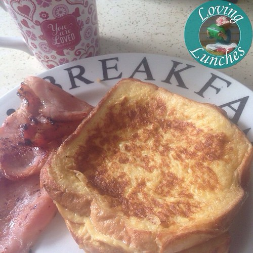 Loving my husband this morning… French toast, bacon and coffee. What more could a girl ask for? 😍😘 What does your Sunday morning hold?