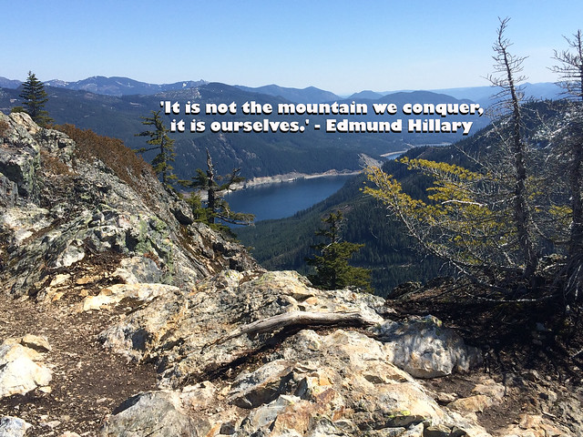 Conquer the mountain