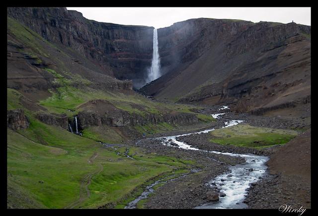 Islandia Höfn fiordos Djúpivogur Stödvafjördur Litlanesfoss Hengifoss - Cascada Hengifoss
