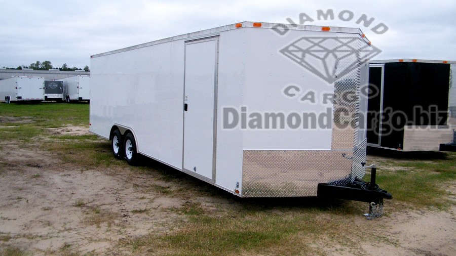 Diamond Cargo 85 X 24 Enclosed Trailers