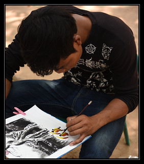 Artiste de rue...