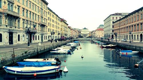Trieste,Canal Grande