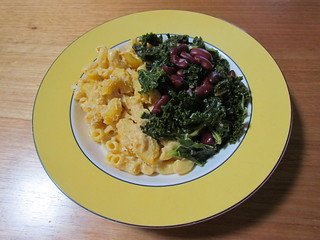 American Menu: Butternut Mac and Cheese; Garlicky Greens and Beans