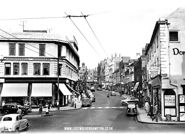VICTORIA  STREET 1950'S