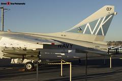 154370 NK-507 - B-010 - US Navy - LTV A-7B Corsair II - USS Midway Museum San Diego, California - 141223 - Steven Gray - IMG_6715