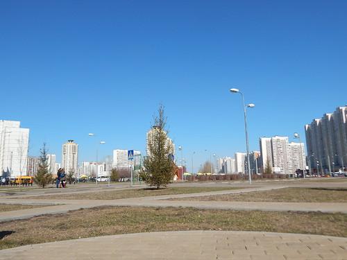 парк в апреле