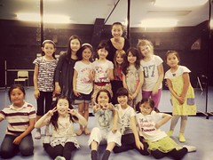 Dance workshop With Eileen for Anya's celebration.
