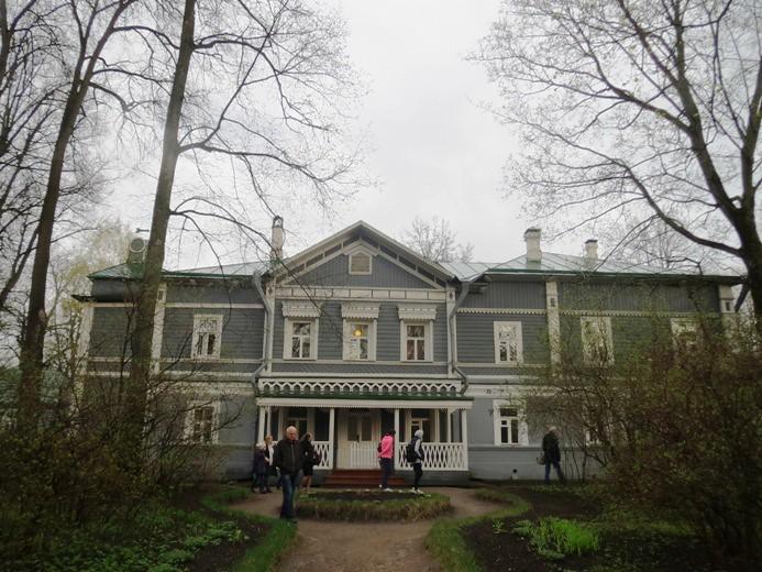 дом в усадьбе Абрамцево