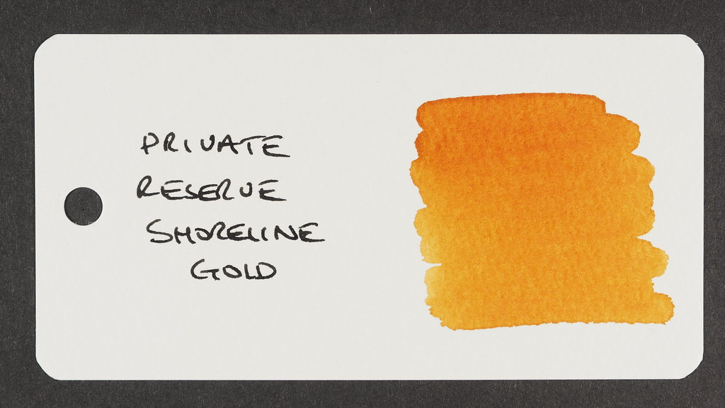 Private Reserve Shoreline Gold - Word Card