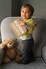ben at 11 months