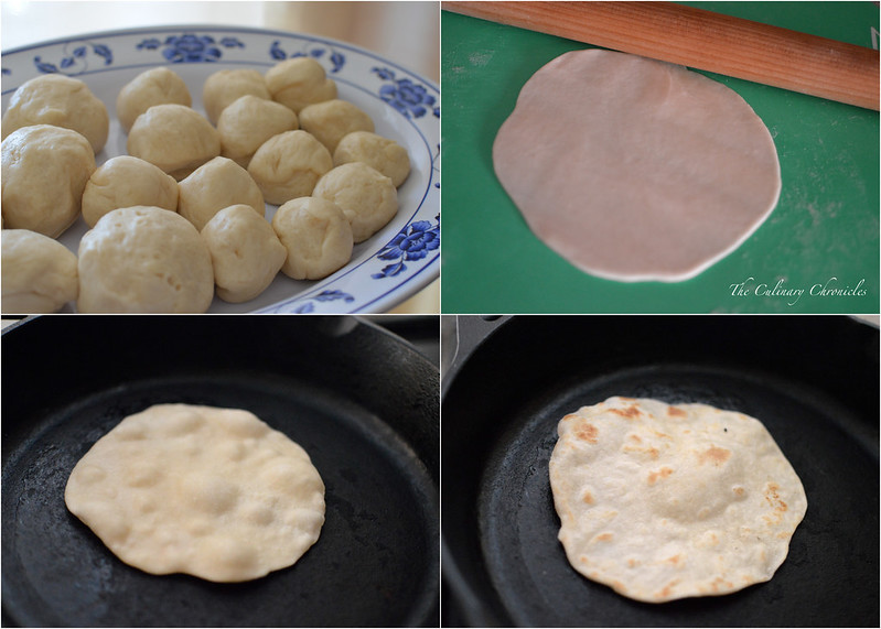 Tortillas de Harina {Flour Tortillas}
