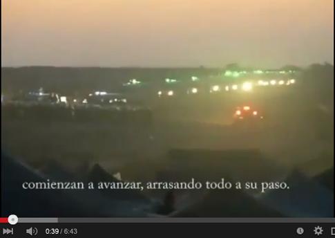 15d20 Fuerzas marroquíes entran campamenteo refugiados saharahuis