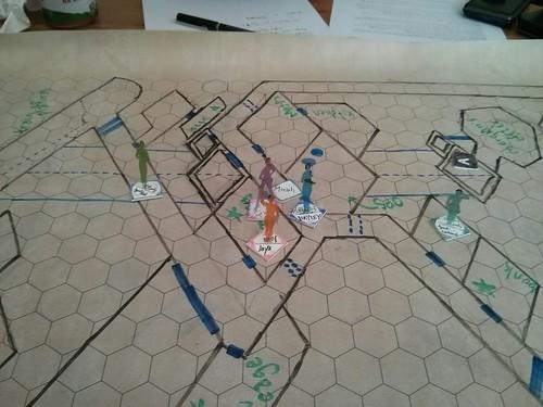 Custom Game Pieces & Map