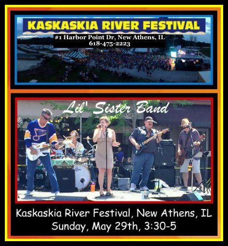 Kaskaskia River Festival Sister 5-29-16