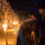 Fri, 01/04/2016 - 19:26 - Shaolin Gurukul Students practice the candle punching dril