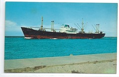 117409571288  Israel U. S. Jewish Port Aransas Texas Military Freighter