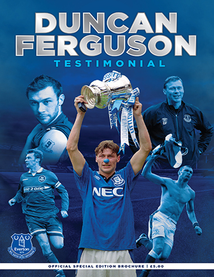 Match programme - Everton v Villarreal - 2nd August 2015