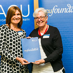 ACUscholarship2016-169 Lauren McAdam and Prof. Karen Flowers