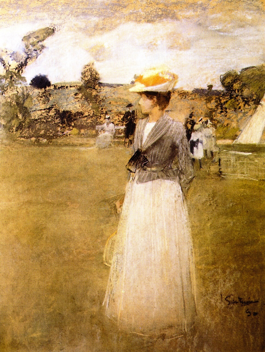 Tennis by James Guthrie - 1890