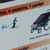 Thule child carrier for snow
