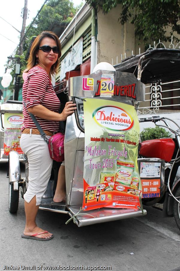 Malabon Food Trip via Tricycle Tour by Jinkee Umali of www.foodsonthespot.com