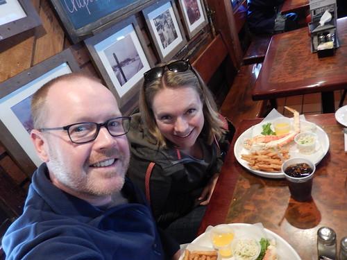 Annapolis - king crab eten bij Jimmy Cantler's Riverside Inn