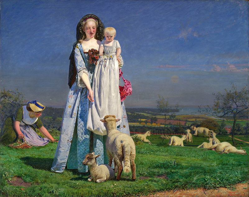 Ford Madox Brown - Pretty Baa-Lambs (c.1855)