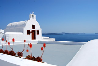Chapel on Santorini, Greece