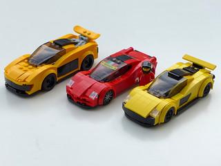 Speed Champions Alternate Builds