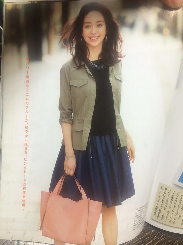 Японская мода на лето: синее, белое, широкое
