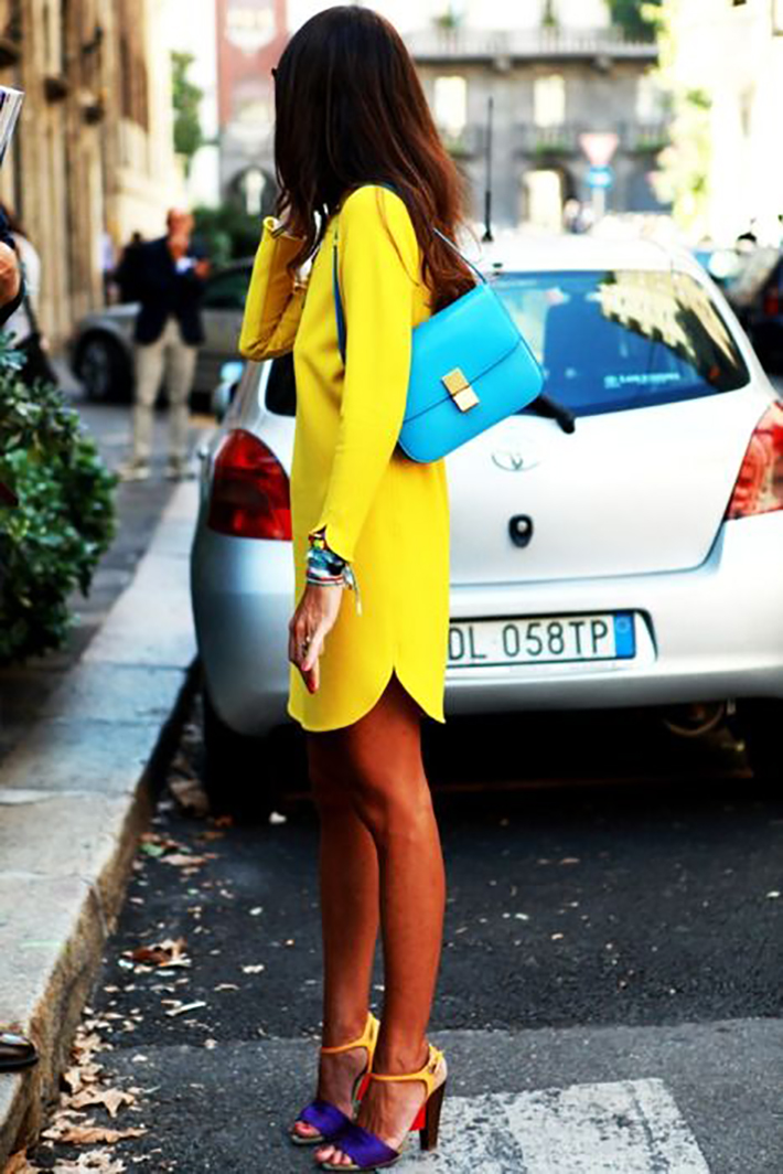 streestyle spring outfits bright colors06