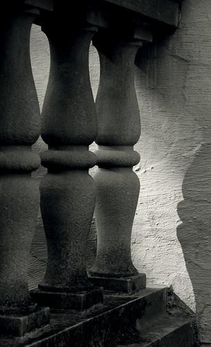 blackandwhite bw ontario canada blackwhite toned balustrade parkwood oshawa balusters parkwoodestate