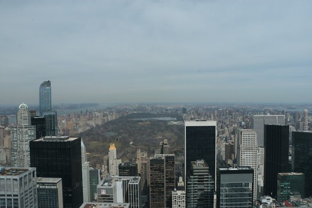 Top of the rock: panorama