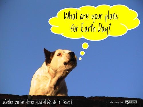 What are your plans for Earth Day? = ¿Cuáles son tus planes para el Día de la Tierra? #roofdog #earthday