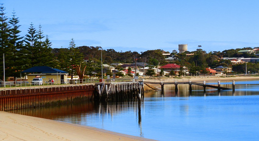 Port Vincent Wharf AND Loo, Yorke Peninsula, South Australia