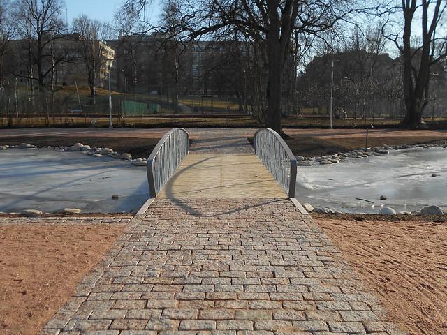 Helsingin Kaisaniemen kasvitieteellisen puutarhan remontti - Tilannetta 19.3.2015 F