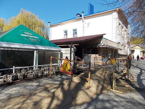 Розкопали підвали театру Зафрана?