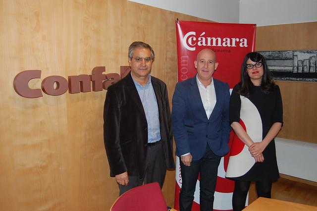 Reunión empresarios y Ganemos Salamanca