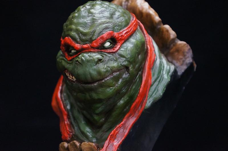 1/4 TMNT sculpté par Cyril Roquelaine 17128516689_09e7b5dd74_c