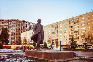 Shchelkovo, Lenin Square