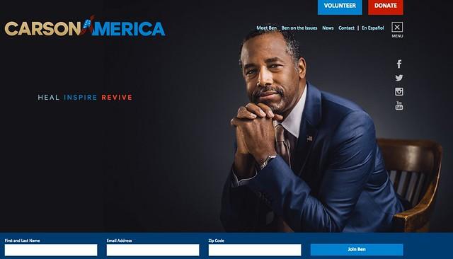 Ben Carson website