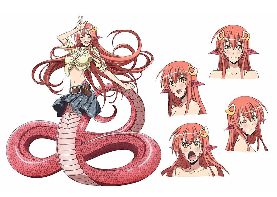 150420(1) -『人魚又上鉤』團隊釣到7月新動畫《モンスター娘のいる日常》(魔物娘的同居日常/Everyday Life with Monster Girls)發表「米亞、帕皮、珊卓雷雅」聲優! 2