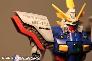 【玩具人Ken C.K Wei投稿】Shining Gundam/MG 閃光鋼彈/MG 製作心得分享