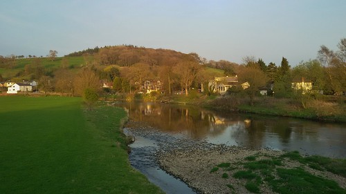 The Village of Sawley in the Forest of Bowland Area of Outstanding Natural Beauty, Lancashire, England - April 2015