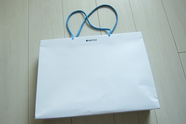 Apple Watch shop bag by Isetan Shinjuku