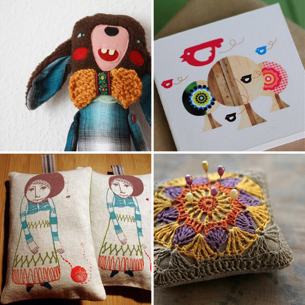12 favourite picks from the Papernstitch market, curated by Emma Lamb