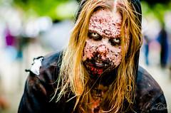 Zombie from the walking dead.