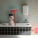 Mr. Snowman is taking a bath by virginhoney